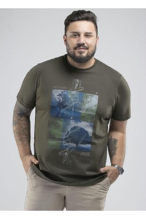 Svk Plus Size Camiseta Plus Size Start