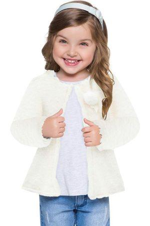 MILON Casaco Infantil Feminino Off White