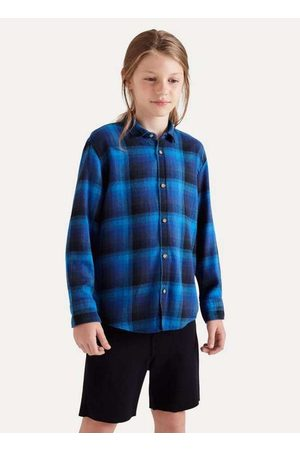 Reserva Mini Camisa Mini Pf Ft Flanela Gradiente