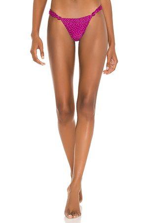 Vix Mia Cheeky Bikini Bottom in Purple. - size L (also in M, S, XS)