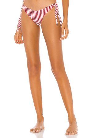 superdown Clari Bikini Bottom in Red. - size L (also in M, S, XL, XS, XXS)