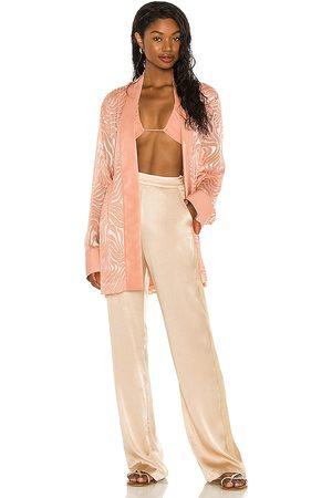 Tell Your Friends Kimono in Rose. - size L (also in M, S, XL, XS, XXS)