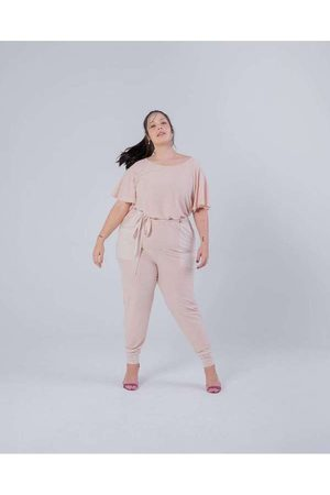 Miss Taylor Calça Jogger Almaria Plus Size Bolso Q