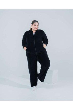 Miss Taylor Mulher Calça Pantalona - Calça Pantalona Almaria Plus Size Bols