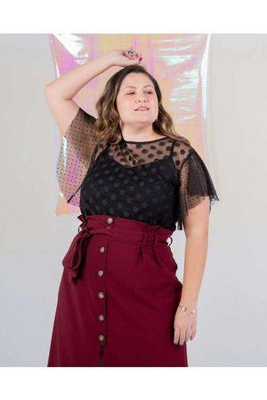 Miss Taylor Saia Clochard Almaria Plus Size Midi V