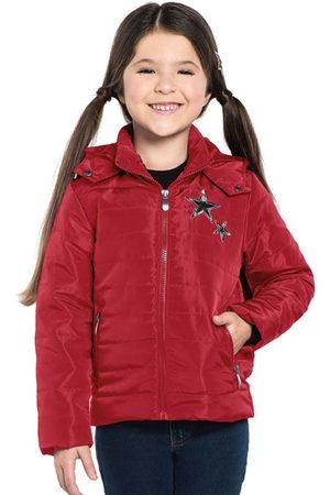 Rovitex Kids Menina Parka - Parka Infantil Feminina com Capuz