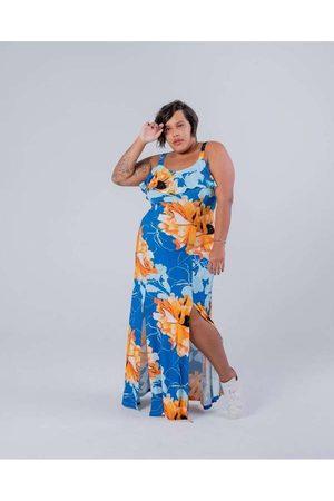 Miss Taylor Vestido Longo Almaria Plus Size Estamp