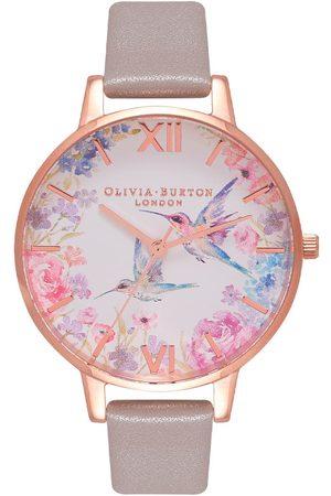 Vivara Mulher Relógios - Relógio Olivia Burton Feminino Couro Cinza - OB16PP79