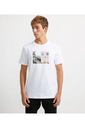 Ripping Homem Camisolas de Manga Curta - Camiseta com Estampa Frontal | | | M