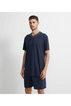 Viko Homem Pijamas - Pijama Curto Básico Gola V | | | G