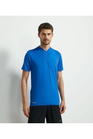 Get Over Homem Camiseta - Camiseta Ciclista com Zíper e Bolsos Laterais Refletivo nas Costas | | | M