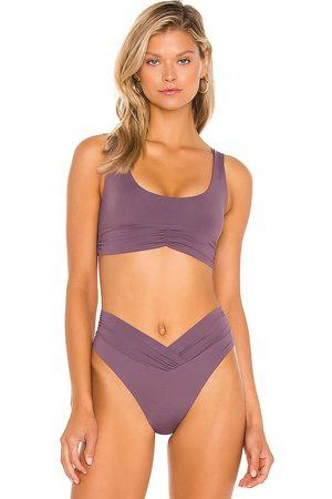 Riot Bikini - Pico Bikini Top in Purple. - size M (also in S, XS)