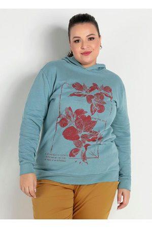 Marguerite Mulher Casacos - Casaco com Capuz Plus Size