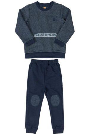 Up Baby Menino Casacos - Conjunto Blusão Estampado e Calça