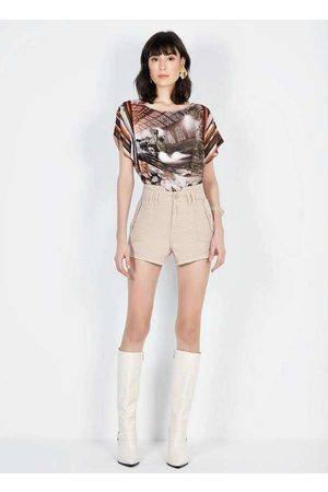 Dimy Mulher Bermuda - Shorts Madonna Unico Sho23571 Multicores