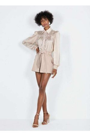 Dimy Mulher Minissaia - Shorts Saia com Faixa Sho22887
