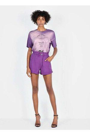 Dimy Mulher Bermuda - Shorts Clochard Unico Sho23564 Multicores