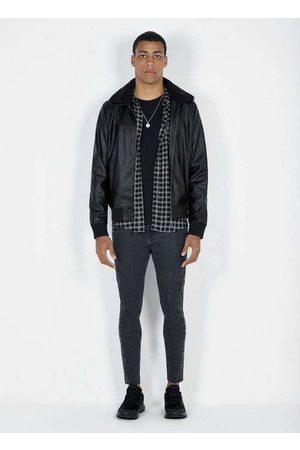 Dimy Homem Blazer - Jaqueta em Tecido Pu