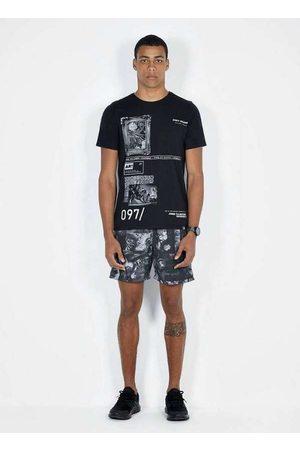 Dimy Homem Camisolas de Manga Curta - T-Shirt Estampa Frontal