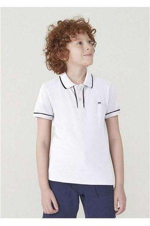 Hering Menino Camisa Pólo - Camisa Polo Básica Menino de Algodão com Bordado H