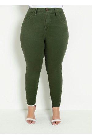 Marguerite Calça Skinny Militar Plus Size