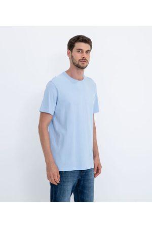 Marfinno Camiseta Manga Curta Lisa com Textura em Algodão Peruano       G