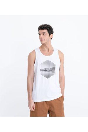 Ripping Homem Camisolas tipo Regata - Regata com Estampa Praia | | | P