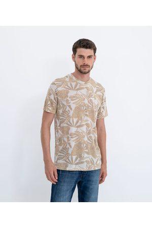 Marfinno Homem Camisolas de Manga Curta - Camiseta Manga Curta com Estampa Flores | | | EG