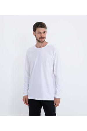 Marfinno Camiseta Comfort em Algodão Peruano Manga Longa Básica | | | P