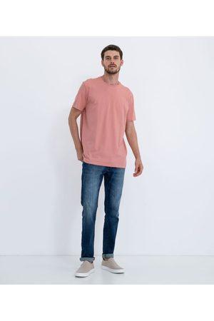 Marfinno Homem Camisolas de Manga Curta - Camiseta Comfort em Algodão Peruano Lisa       P