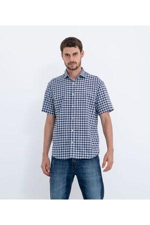 Marfinno Homem Camisa Manga Curta - Camisa Manga Curta Xadrez Vichy | | | M