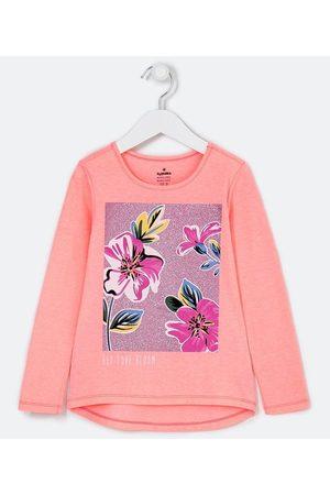 Fuzarka (5 a 14 anos) Criança Vestido Estampado - Blusa Infantil Estampa Floral Localizada - Tam 5 a 14 anos | | | 11-12