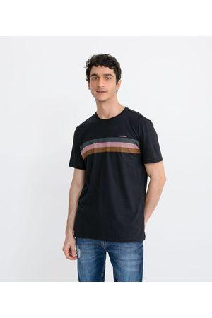 Blue Steel Camiseta Estampa Be Kind com Listras no Peito | | | GG
