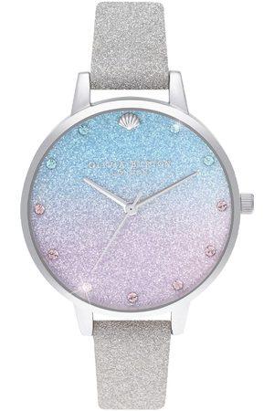 Vivara Mulher Relógios - Relógio Olivia Burton Feminino Couro Cinza - OB16US49