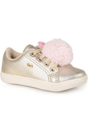 KLIN Tênis Infantil Baby Gloss Pompom