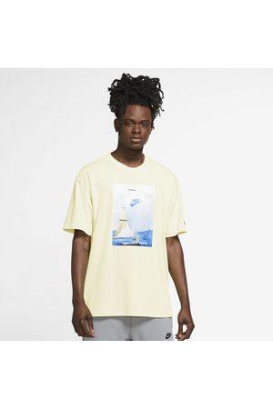 Nike Homem Sapatos Esporte - Camiseta Sportswear Reissue Masculina