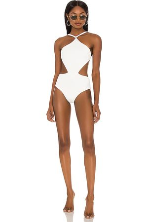 FELLA Sabath One Piece Swimsuit in White. - size L (also in M, S)