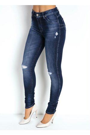 Sawary Jeans Calça Jeans Legging Levanta Bumbum Sawary