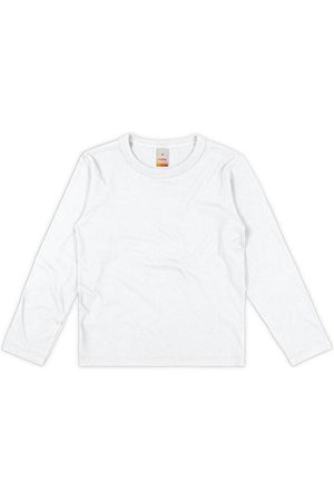 Marisol Menino Camisolas de Manga Curta - Camiseta Branca Menino