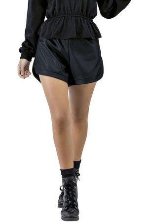 Angel Mulher Shorts Esportivos - Shorts Sporty Pu