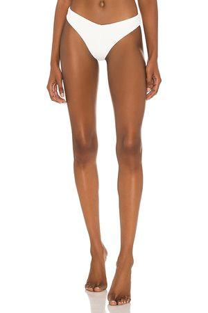 FELLA Chad Bikini Bottom in White. - size L (also in M, S, XS)