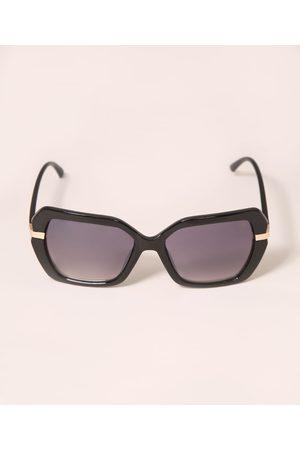 YESSICA Óculos de Sol Feminino Quadrado