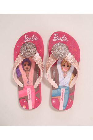 Ipanema Menina Chinelos - Chinelo Infantil Barbie Zen Rosa