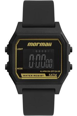 Mormaii Mulher Relógios - Relógio Feminino Vintage Rosê Digital MOJH02AJR8P