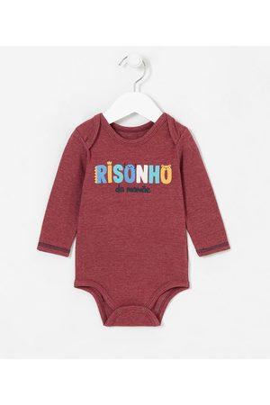Teddy Boom (0 a 18 meses) Body Infantil Frase Risonho da Mamãe - Tam 0 a 18 meses       3-6M