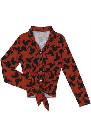 Rovitex Camisa Feminina com Amarração