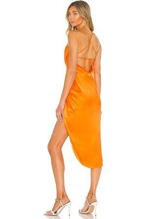Amanda Uprichard X REVOLVE Jasalina Dress in Orange. - size L (also in M, S, XS)