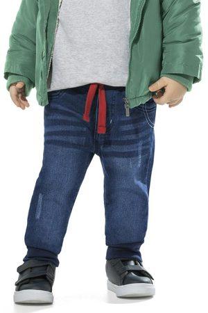 Trick Nick Calça Infantil Moletom Jeans