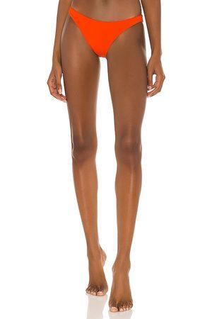 L*Space Camacho Bikini Bottom in Red,Brick. - size L (also in M, S, XS)