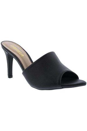 Gabriela Mulher Sapato Mule - Tamanco Salto Fino